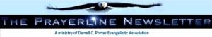 The Prayerline Newsletter sign up